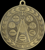Illusion Medals -Academic  Math Illusion Medal Awards