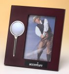 High Gloss Rosewood Finish Photo Frame Executive Gift Awards